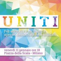 Uniti. Per un'Italia e un'Europa aperte, democratiche e solidali - Milano