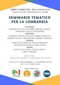 Seminario per la Lombardia