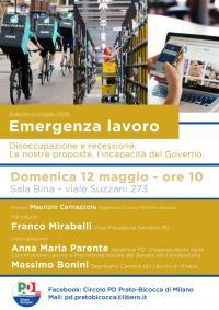 Emergenza Lavoro - Bicocca, Milano