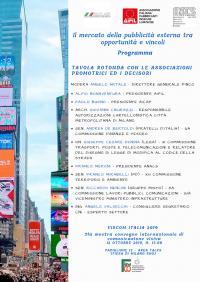 Convegno: Il mercato della pubblicità esterna tra opportunità e vincoli - Rho Fiera