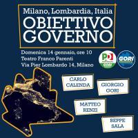 Milano, Lombardia, Italia: obiettivo Governo