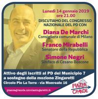 Assemblea Mozione Zingaretti Municipio 7 Milano