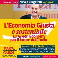 L'economia giusta è sostenibile - Milano Niguarda