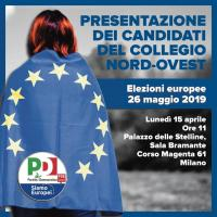 Presentazione dei candidati PD lombardi alle elezioni europee