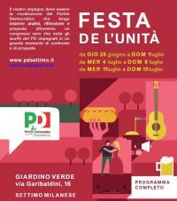 Festa PD a Settimo Milanese
