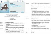 La Lombardia riflette sull'Europa