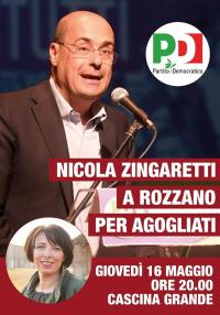 Incontro con Zingaretti a Rozzano