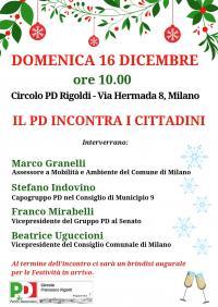 Il PD incontra i cittadini - Niguarda, Milano