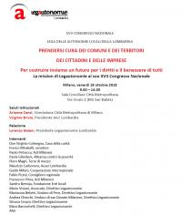 Assemblea Congressuale di Legautonomie