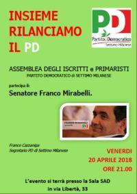 Incontro PD a Settimo Milanese