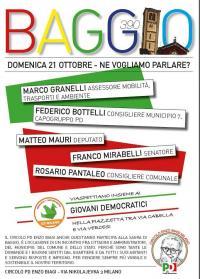 Gazebo PD alla Sagra di Baggio - Milano