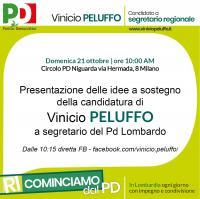 Presentazione di Peluffo a Niguarda