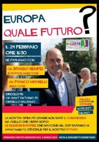 Europa quale futuro? - Cinisello Balsamo