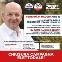 Chiusura della campagna elettorale a Paderno Dugnano