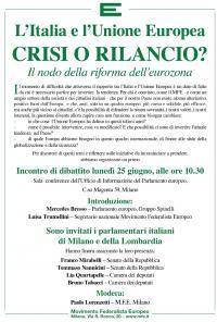 L'Italia e l'Unione Europea - Milano