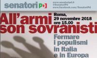 """Convegno """"All'armi sono sovranisti"""" - Roma"""