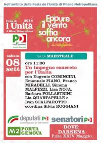 Festa PD a Milano - Darsena