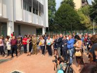 Inaugurazione Scuola Cassinis a Milano
