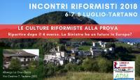 Incontri Riformisti 2018  - Tartano (SO)