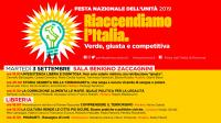 Incontro antimafia alla Festa Nazionale PD a Ravenna