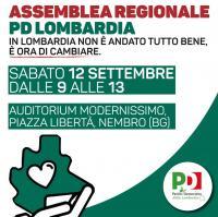 Assemblea Regionale PD Lombarda - Nembro