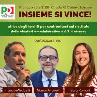 Assemblea PD a Cinisello Balsamo