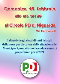 Incontro dei direttivi e degli eletti del PD di Municipio 9 di Milano