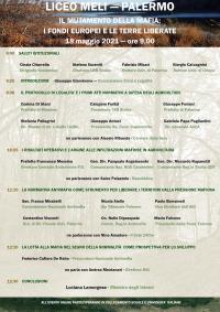 Convegno: Il mutamento della mafia: i Fondi europei e le terre liberate - Palermo