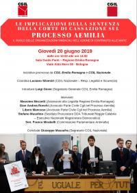 Convegno su Aemilia - Bologna