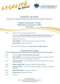 Legalità, mi piace - Milano