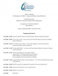 Assemblea dell'Alleanza delle Cooperative Italiane Settore Abitazione
