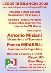 La Legge di Bilancio - Milano